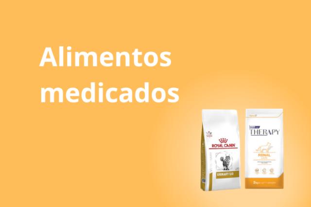 Gato - Alimentos Medicados
