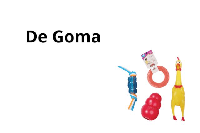 Juguetes de Goma
