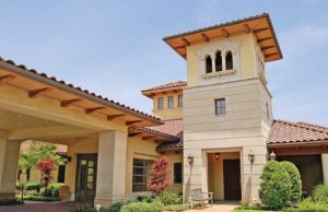 exterior shot of Edgemere, a senior living community in Dallas, Texas