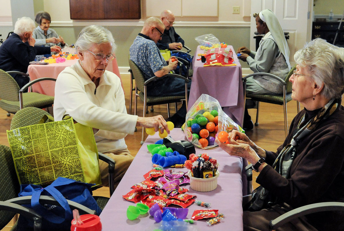 The Easter Bunnies of Edgewood Summit