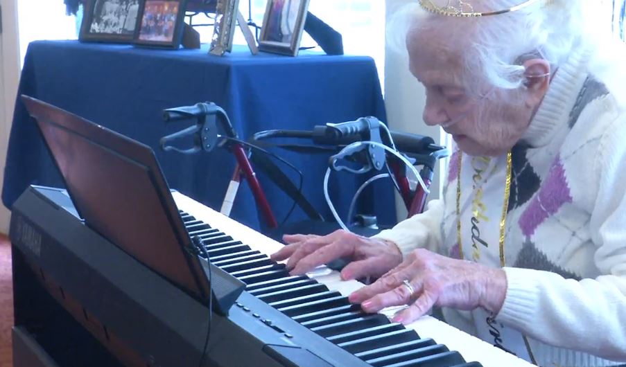 Charleston Resident Says Key to Celebrating 100 Years Can Be Found in Music