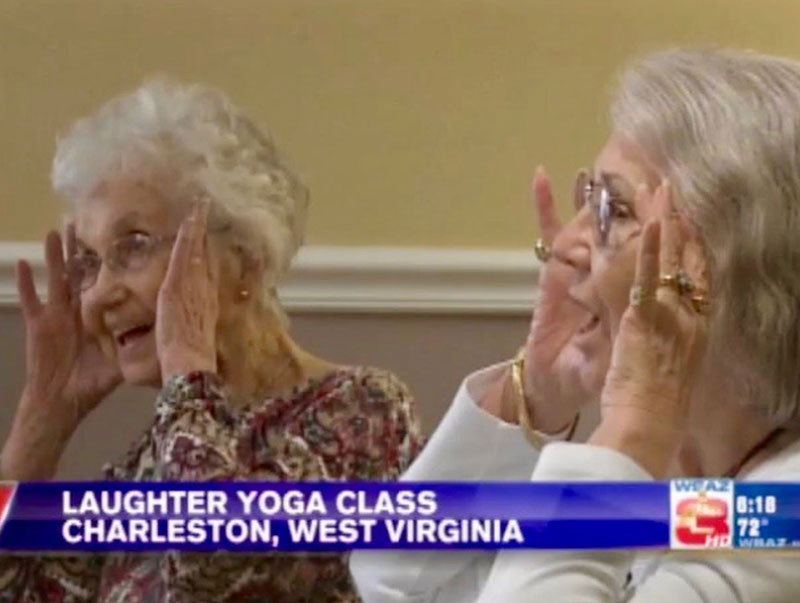 Laughter Yoga Class Helps Residents Stay Happy and Healthy