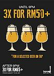 3 for 50 Promo