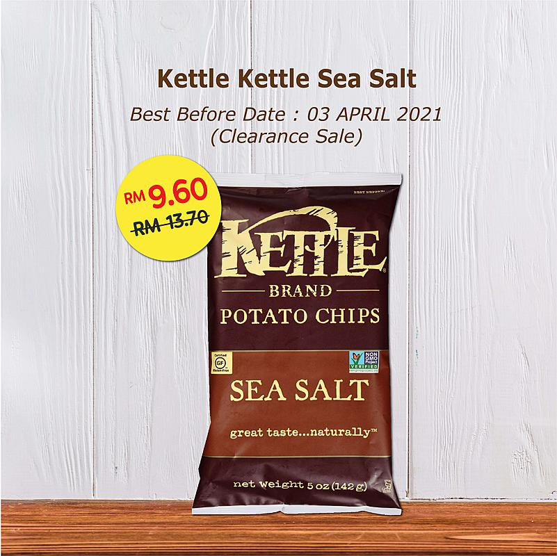 Clearance Sale - Kettle Chips Sea Salt