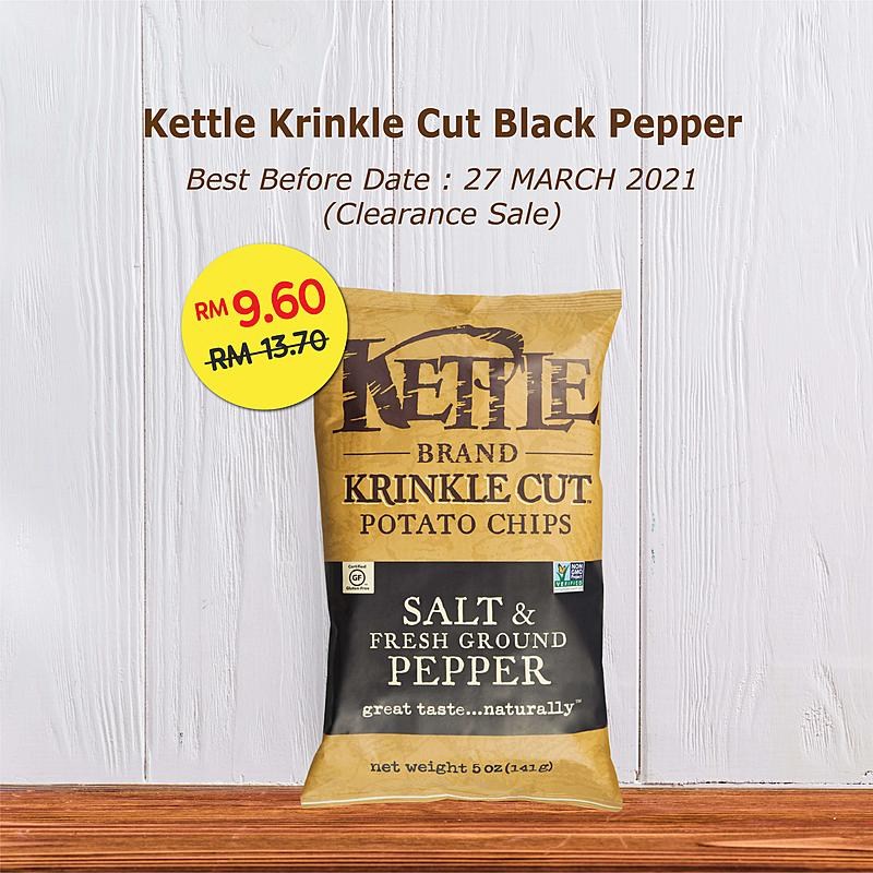 Clearance Sale - Kettle Chips Krinkle Cut