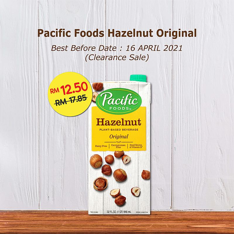 Clearance Sale - Pacific Foods Hazelnut Original 946ml