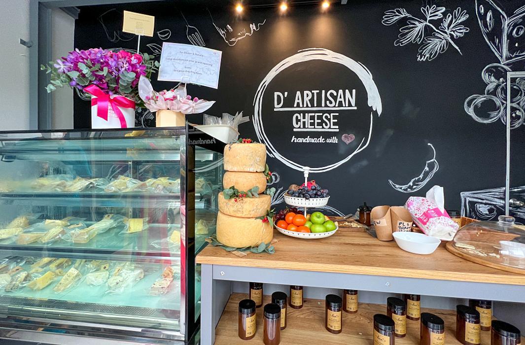 d'artisan cheese, bandar sri damansara