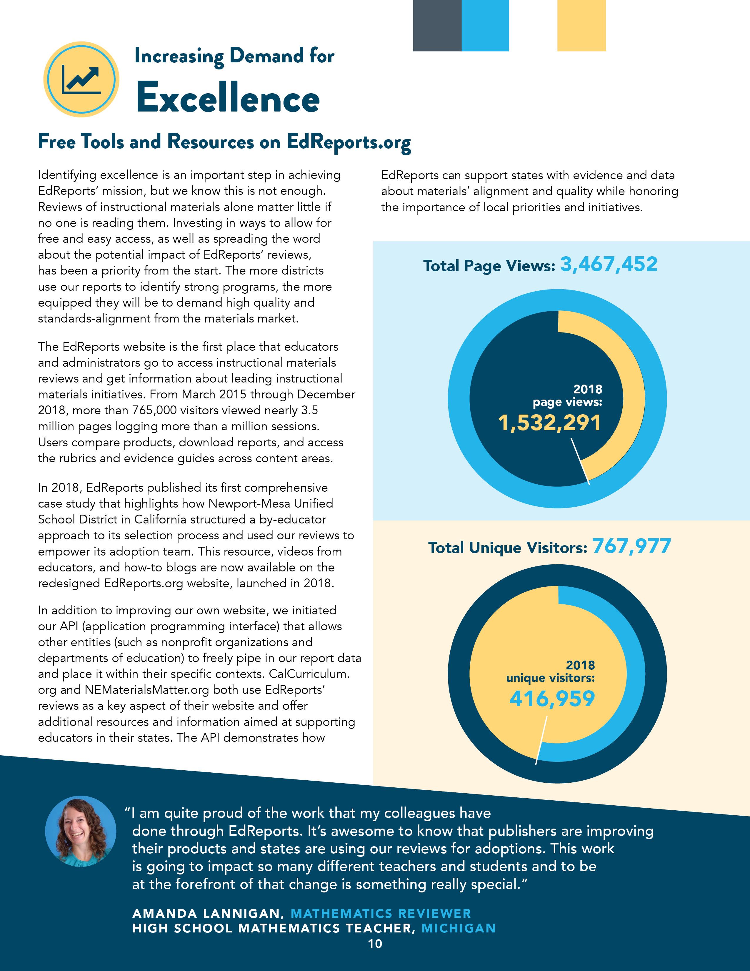 EdReports | EdReports 2018 Annual Report