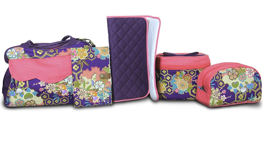 Maestro bolsero: bolsas en tela para maternidad