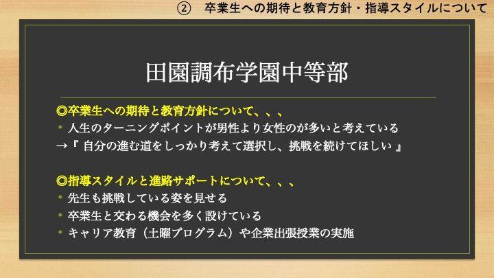【説明会書き起こし】2020/8/22(土) 首都圏主要女子中学校合同説明会