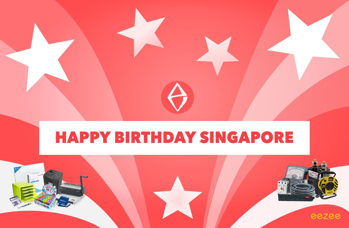 Happy 53rd birthday Singapore! Eezee wishes you all the best!