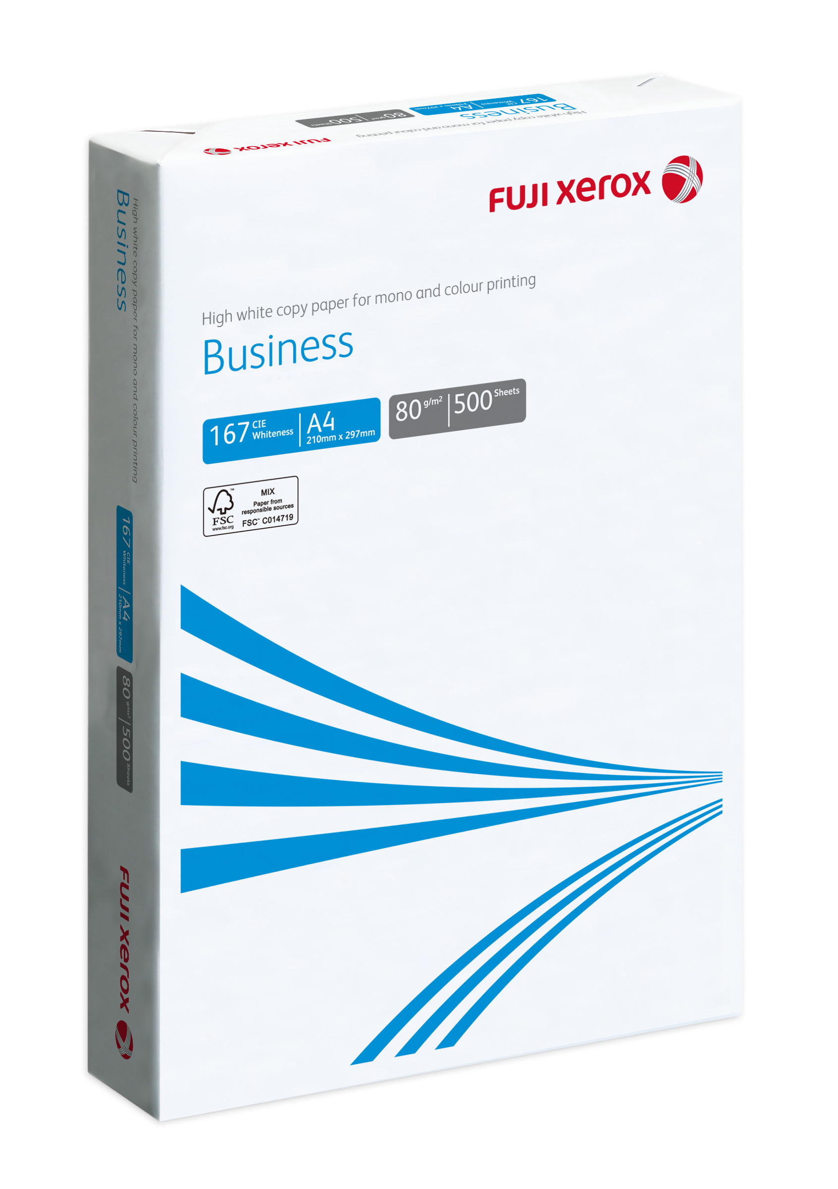 FUJI XEROX COPIER PAPER BUSINESS A4 80GSM FSC™(5 REAMS/BOX)