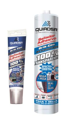 Quiadsa Ms-Transparente Sealant Adhesive Crystal Clear