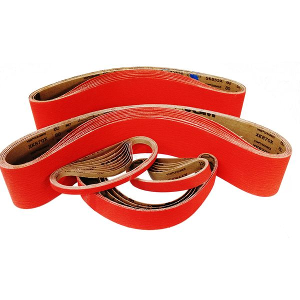 13mm X 305mm Ceramics Belts P60 (100pcs)