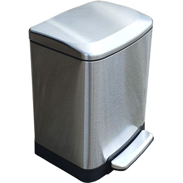 20 Litres Stainless Steel Foot Pedal Bin