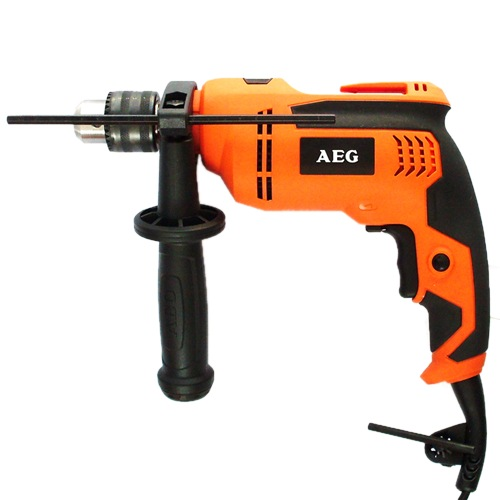 AEG Impact Drill Kit Set, 630W, SB630RE