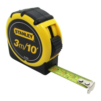 Stanley Rubbergrip Tape Rule