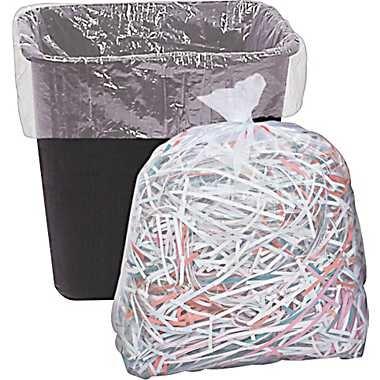 """Garbage Bag Trans 19""""x19"""""""
