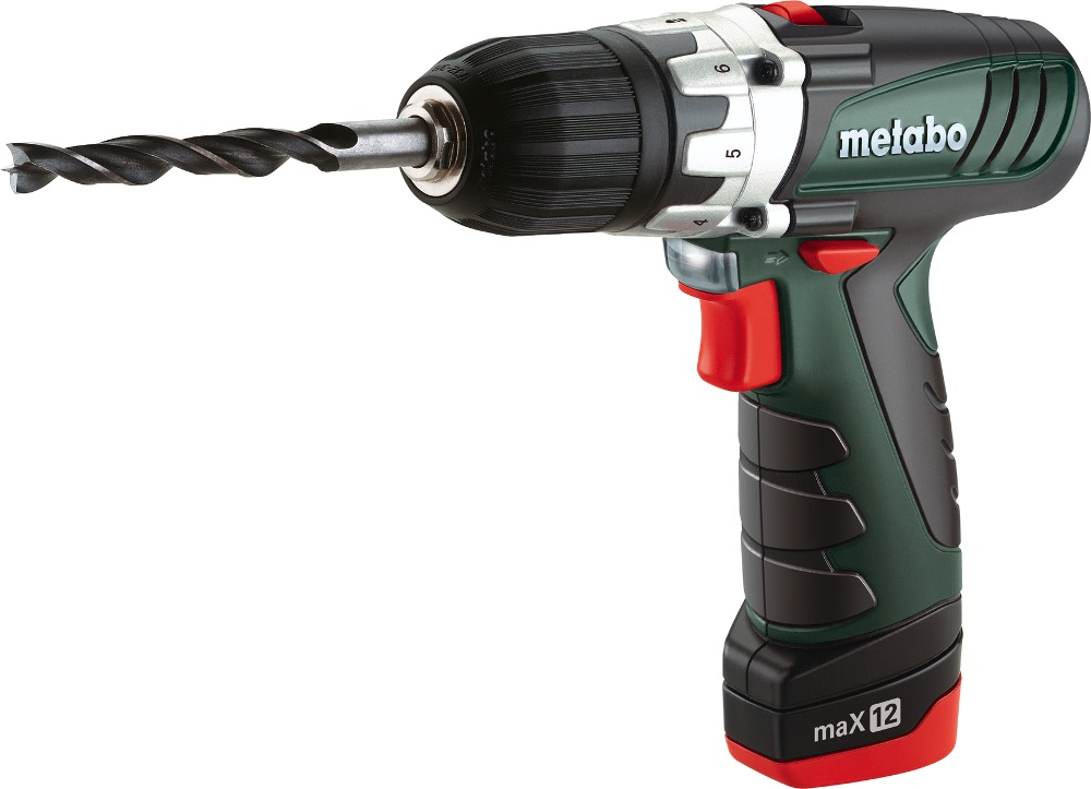 Metabo 10.8v Li-ion POWERMAXX Drill, Bs Pro