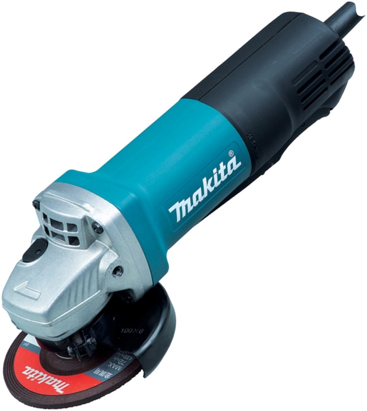MAKITA 100MM DISC GRINDER PADDLE SWITCH, 840W, 9556PBG