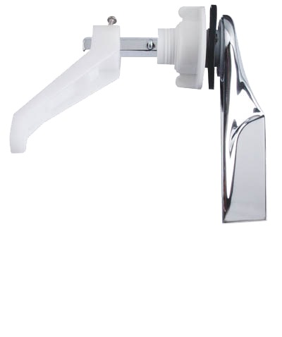 SHOWY LOW LEVEL CISTERN CHR. ALLOY FLUSH HANDLE - 2347