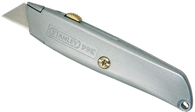 """Stanley 6"""" Retractable Utility Knife 99E 100992"""
