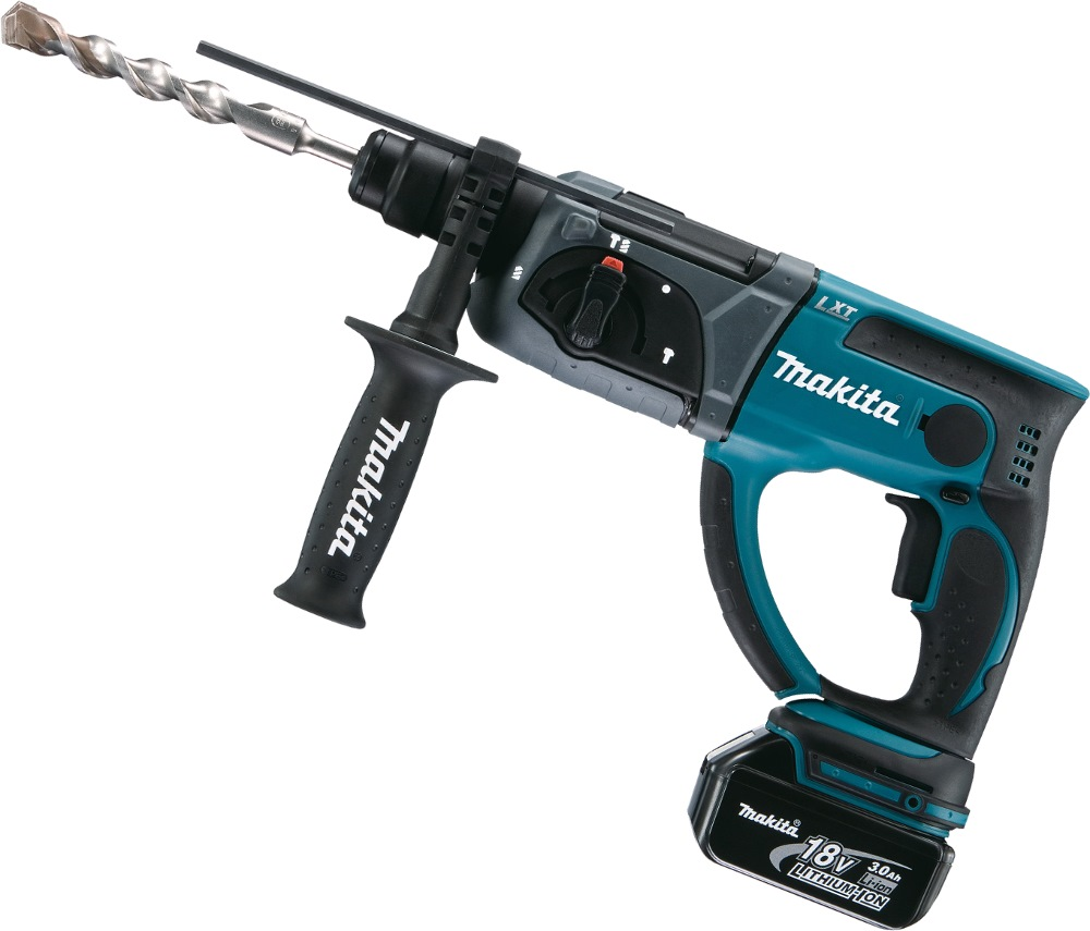 MAKITA 18V 4.0AH LI-ION 20MM COMBINATION HAMMER, DHR202RME