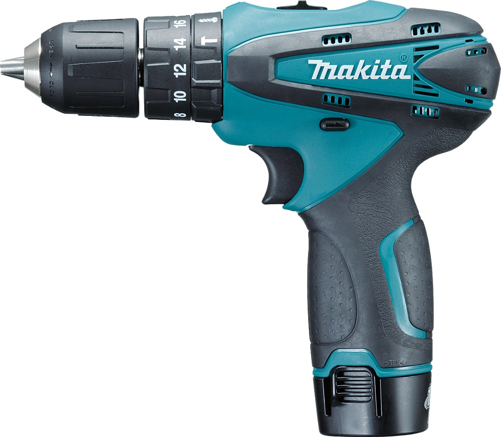 MAKITA 10.8V LI-ION 10MM HAMMER DRIVER DRILL, HP330DWE