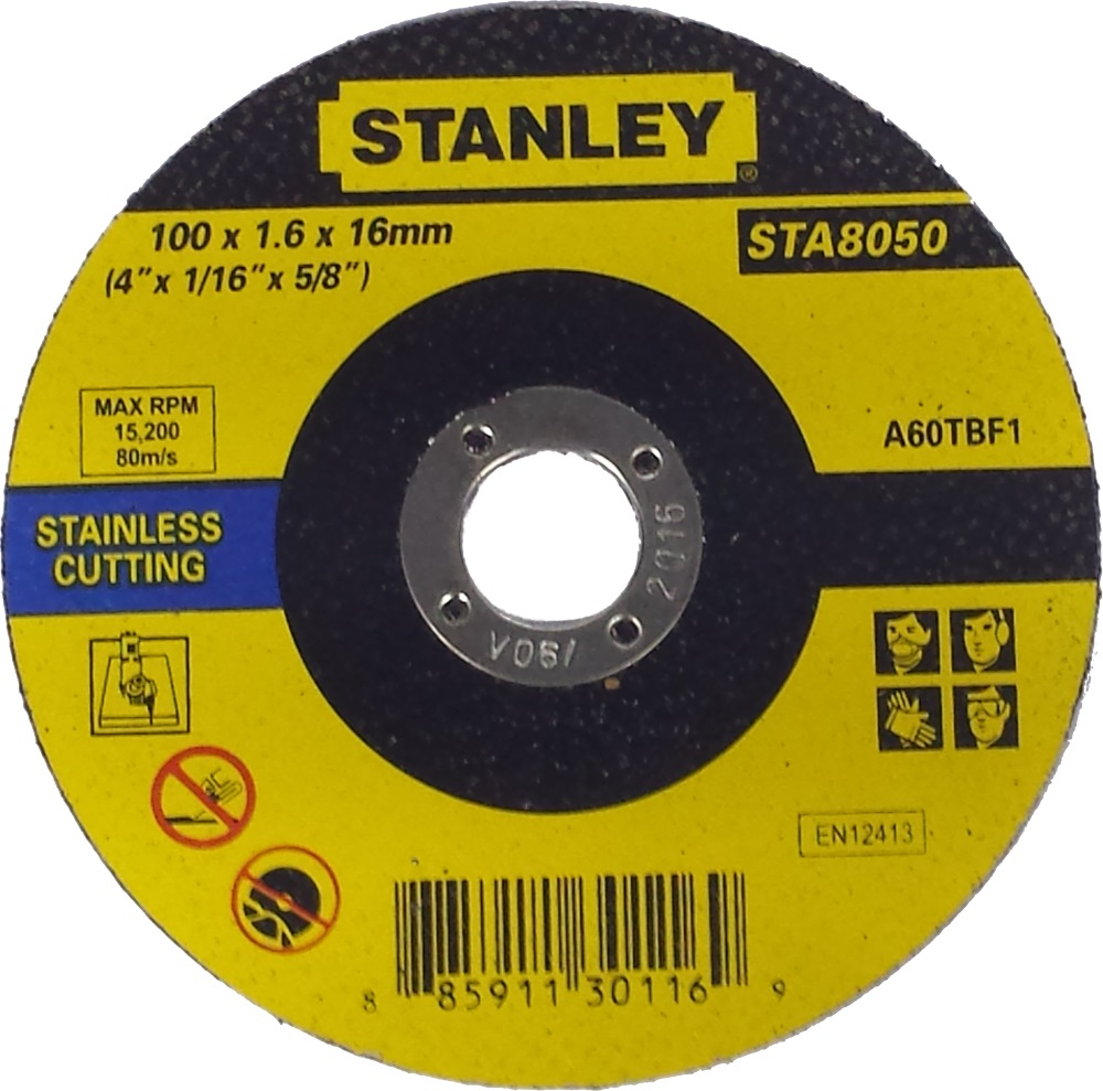 Stanley Cutting Wheel for Stainless Steel STA8060