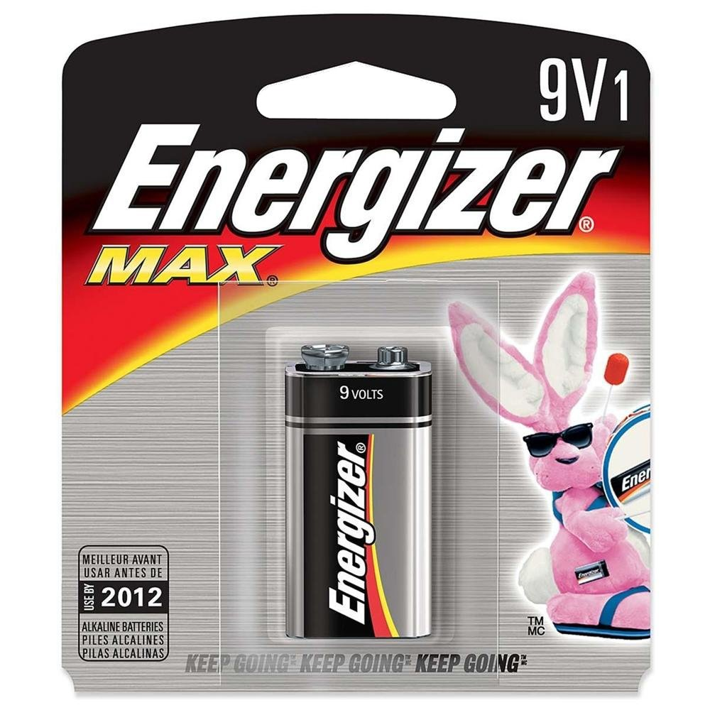 Energizer Battery 9v 1/pack 522