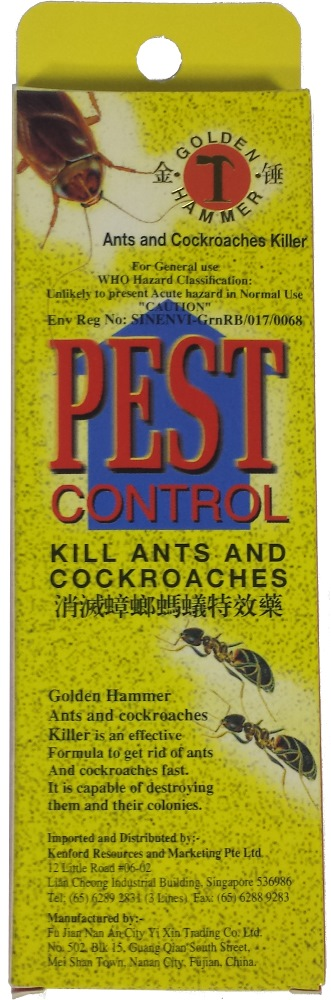 PEST CONTROL KILL ANTS & COCKROACHES