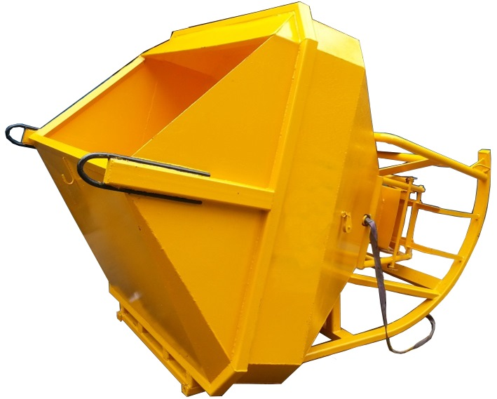 LAYDOWN SQUARE CONCRETE BUCKET MOM TESTED LIFT GEAR & BUCKET LSCB