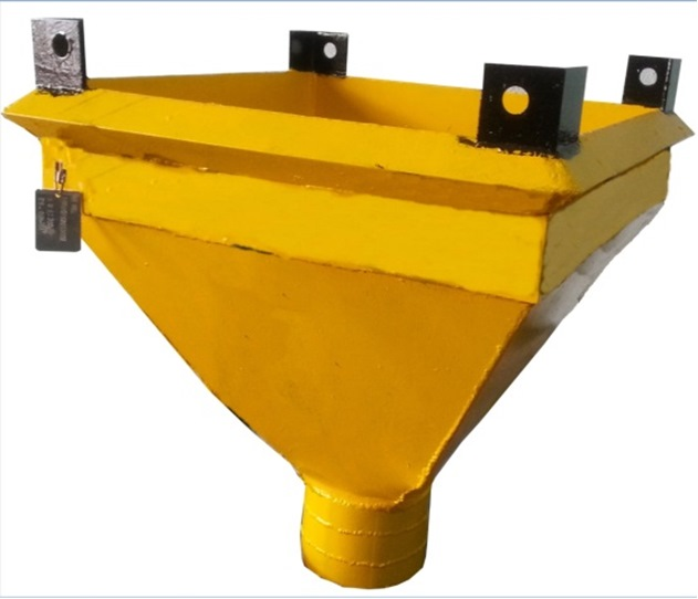 SQUARE CONCRETE HOPPER SCH