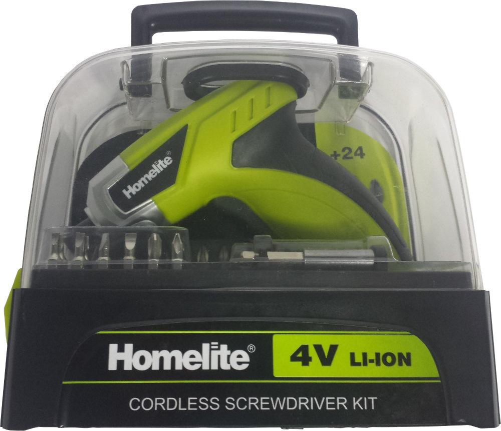 HOMELITE 4V LI-ION SCREW DRIVER KI, HSD4ELI