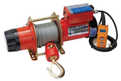 KIO ELECTRIC WINCH HIGH SPEED 250KG, 240V, 7*30M ROPE, GH250