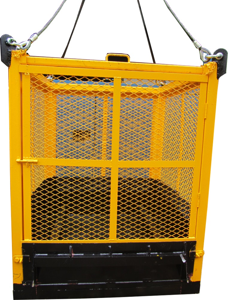 Pallet Cage C/w Mom Testing Pc