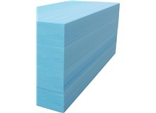 Blue Extruded Polyfoam 2'x4' (6 Pieces)