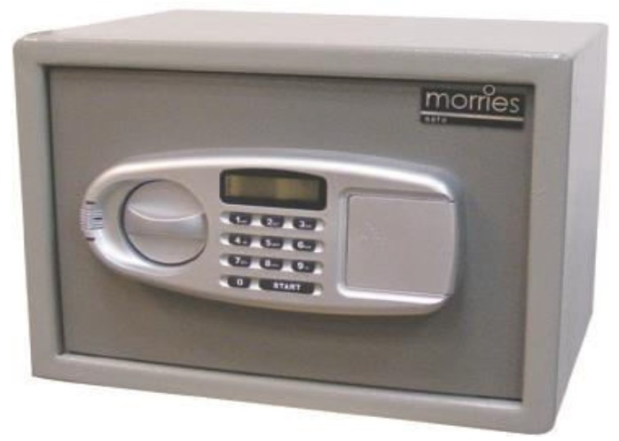 MORRIES ELECTRONIC HOME SAFE BOX - MS25DW