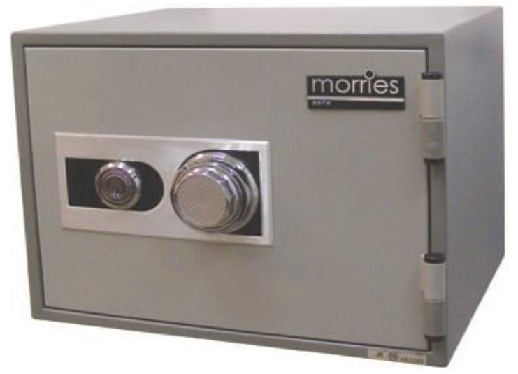 MORRIES FIRE RESISTANT DIAL / KEY SAFE BOX - MS17S