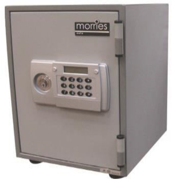 MORRIES FIRE RESISTANT DIGITAL / KEY SAFE BOX - MS17TD