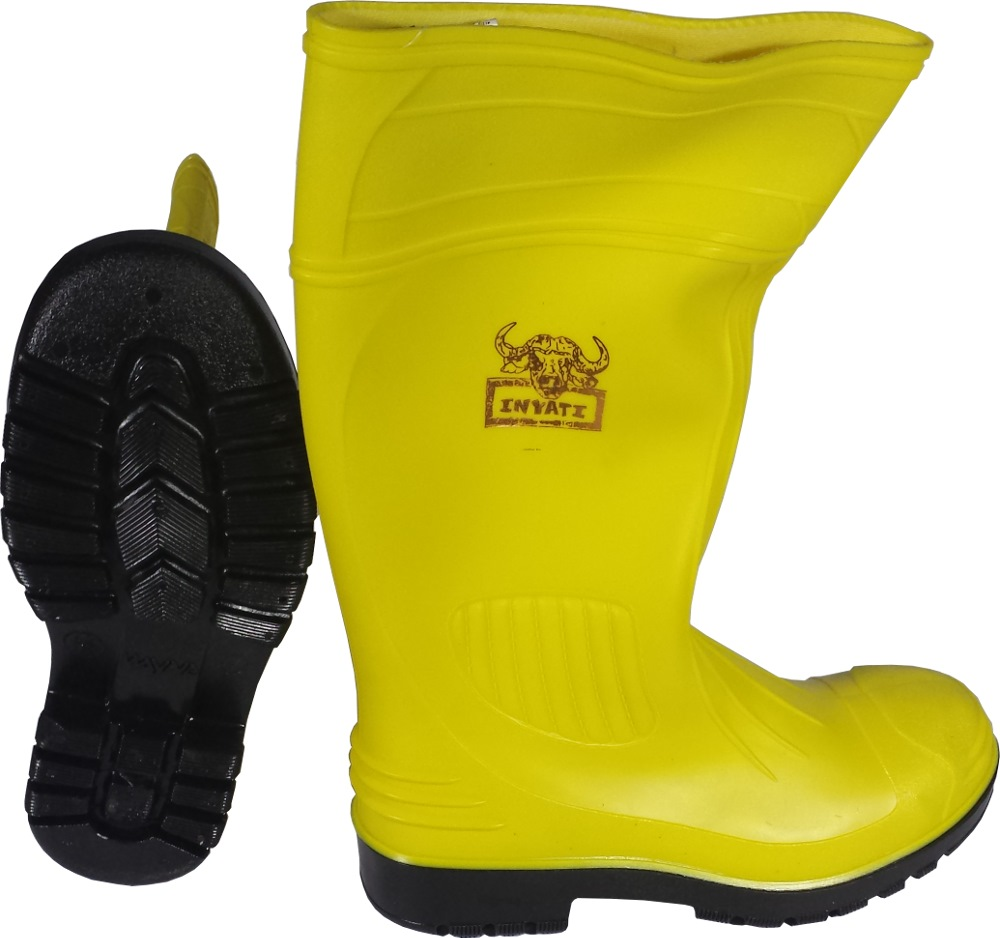 WAYNE YELLOW SAFETY BOOT WITH TOE CAP WY1278