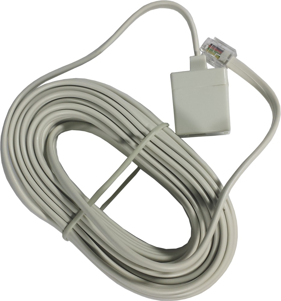 Soundteoh Phone Ext Cord M-f