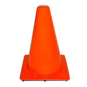 "SAFETY CONE-18"" (RUBBERIZED)"