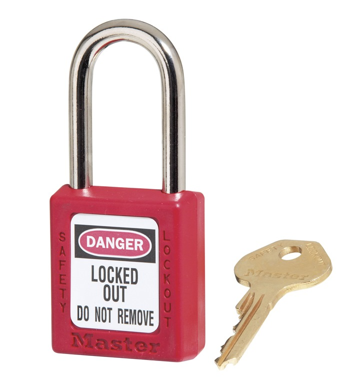 Masterlock Safety Lockout Padlock 410RED
