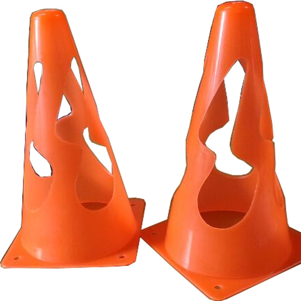 "SAFETY CONE 9"" (PLASTIC)"