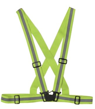 Accsafe Safety Strap Vest with Buckle ACCVS01