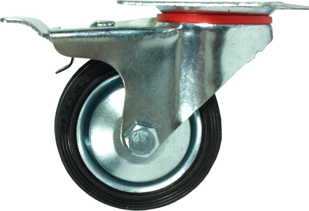 SKK STANDARD DUTY INDUSTRIAL CASTOR WHEEL BRAKE