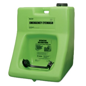 HONEYWELL FENDALL PORTABLE STREAM II EYEWASH STATION 60.5L (16GAL) SPR2300