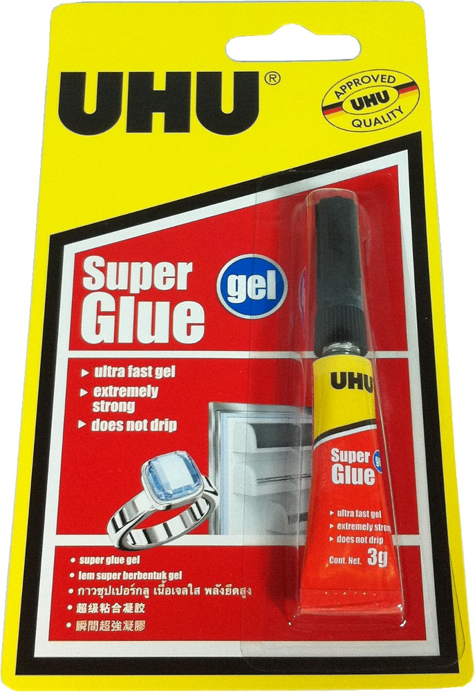 Uhu Super Glue Gel 3g- Uh37615