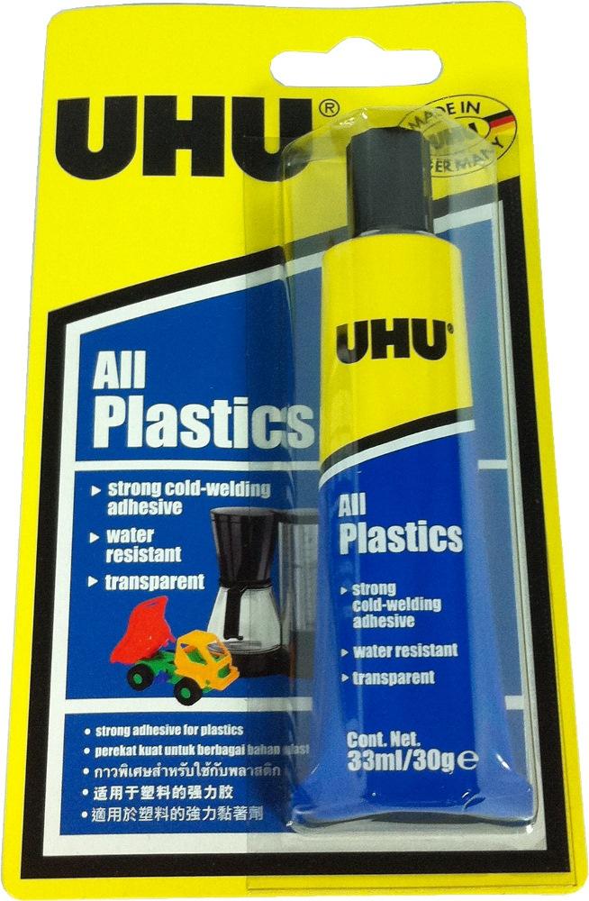 UHU ALL PLASTIC 33ML/30G- UH37595